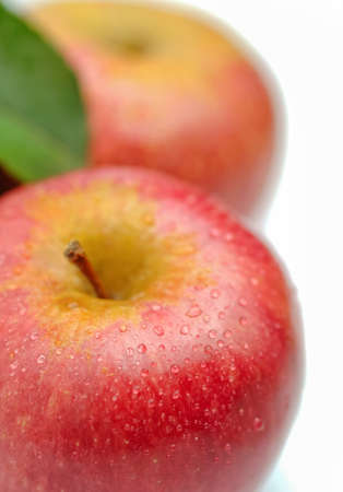 typical: Annurca - typical italian apple Stock Photo