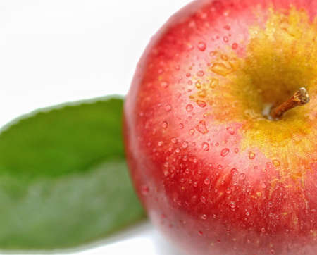 typical: Annurca - typical italian apple Stock Photo