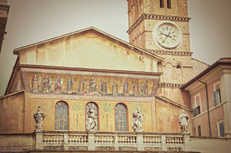 marys: Basilica of St. Marys in Trastevere - Rome - Italy