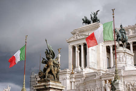 Altar of the fatherland  - Rome Italy