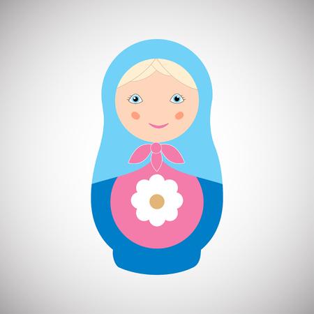 russian nesting doll Standard-Bild - 101280669