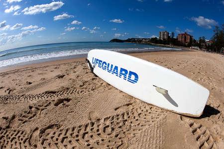 Australian Lifeguard Reklamní fotografie