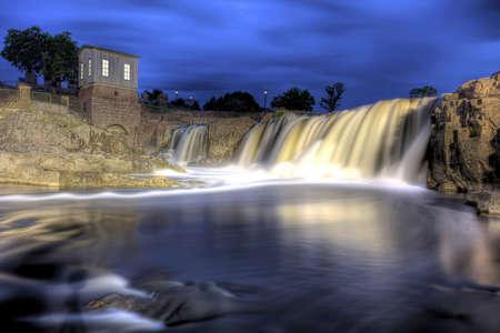 cascade range:  Sioux Falls, South Dakota