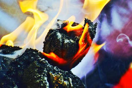 Flaming Shot Stock Photo
