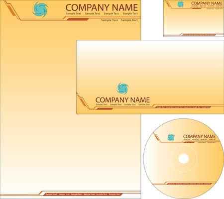 Corporate Identity Kit Vector Art Vector