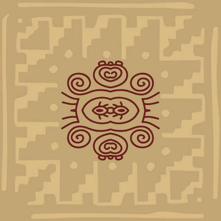 indian village: Folk, Tribal Design, Motif, Wall Painting Vector Art