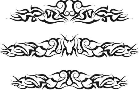 armband: Tattoo Arm Band Set Vector Art