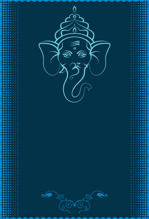 Ganesha The Lord Of Wisdom Vector Art Vector