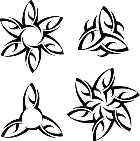 Tribal Tattoo Design Vector Art Vector