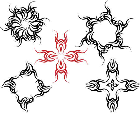 Tribal Tattoo Design Vector Art Vector