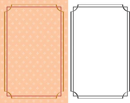 Cadre Art Border Vector Design