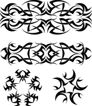 armband: Tattoo Armband Star Vector Art Illustration