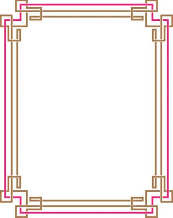Frame Border Design Vector Art Vector