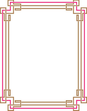 Frame Border Design Vector Art Vector