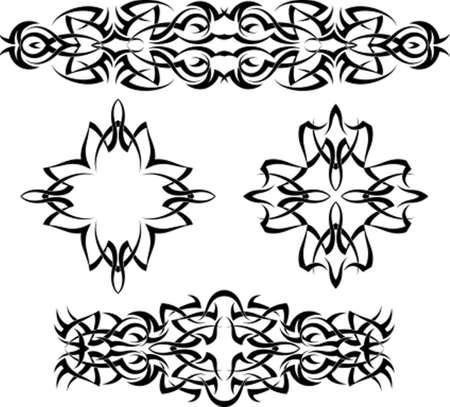 Tatouage tribal Vector Design Art
