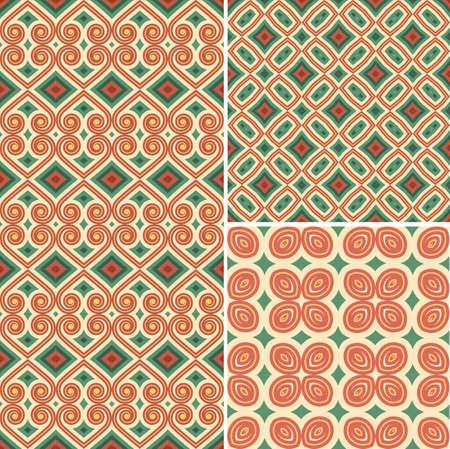 contemporary design: Pattern Seamless Design Vector Art