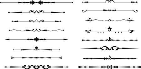 Texte Divider ornement Vector Design Art Banque d'images - 45479119