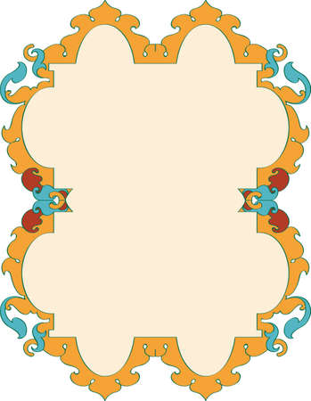 background designs: Frame Border Design Vector Art