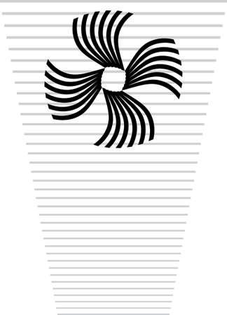 web template: Background Composition, Web Template (Halftone) Vector Art Illustration