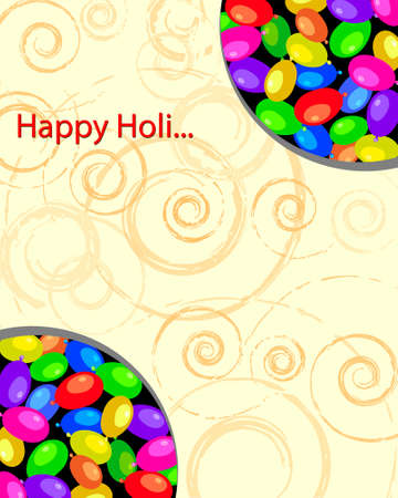rang: Holi The Festival Of Colours Vector Art