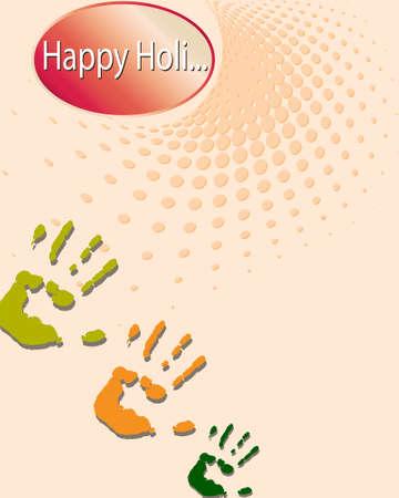 panchami: Holi The Festival Of Colours Vector Art