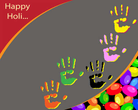 gulal: Holi The Festival Of Colours Vector Art