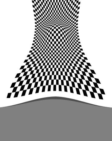 checker: Checker Design Abstract Vector Art Illustration
