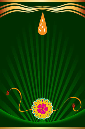 bahan: Raksha Bandhan Vector Art Illustration