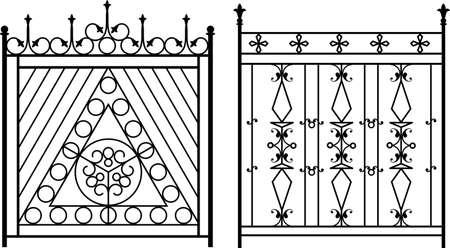 Window Grill Wrought Iron Gate Door Fence Window Grill Railing
