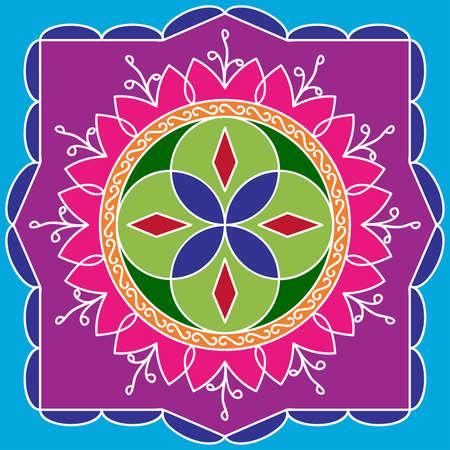 deepak: Rangoli Ornamental Design Vector Art