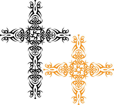 holy cross: Cross Christian Design Vector Art