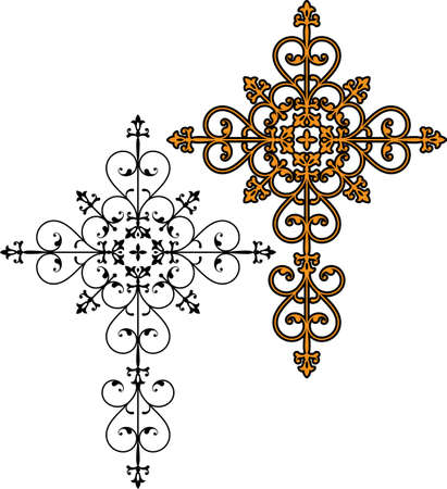 Cross Christian Design Vector Art