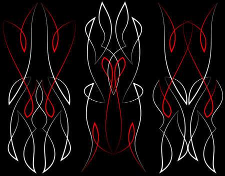 ready: Pinstripe Graphics : Vinyl Ready Vector Art