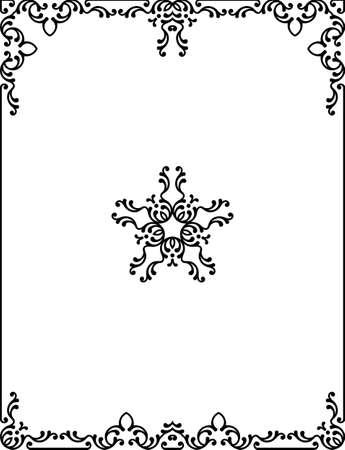 corners: Frame Border Design Vector Art