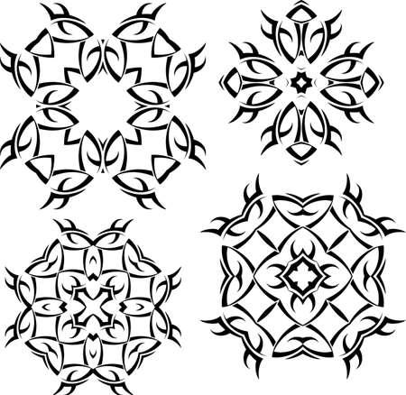 tatoo: Tribal Tattoo Design Vector Art