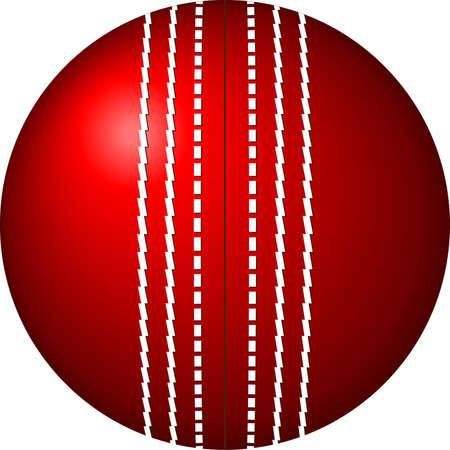 cricket: Cricket Ball Vector Art
