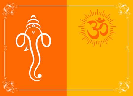 c�r�monie mariage: Ganesha Le Seigneur Des Sagesse Vector Art