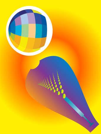 pichkari: Holi The Festival Of Colours Vector Art