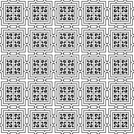 Pattern Seamless Design Vector Illustration Illustration
