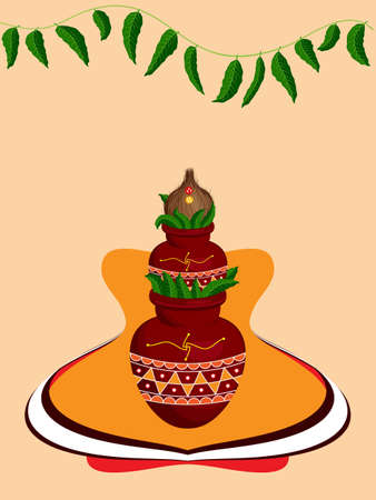indian festival: Diwali Greeting Design Vector Art