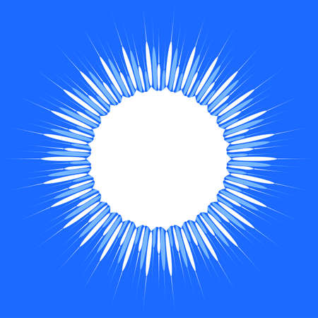 sun burst: Sun Burst Design Vector Art
