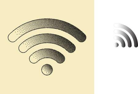 effect: Wifi Stipple Effect
