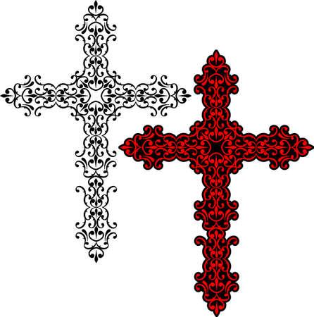 Art Christian Croix Vector Design
