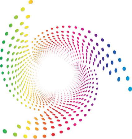web template: Background Composition Spectrum, Web Template (Halftone)