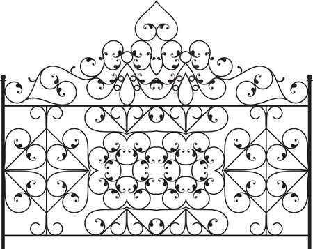 fabrication: Wrought Iron Gate, Door, Fence, Window, Grill, Railing Design