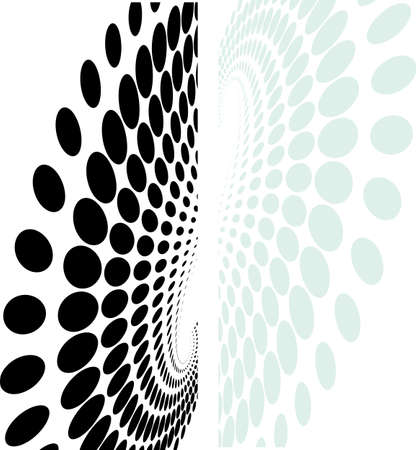 web template: Background Composition, Web Template (Halftone) Vector Illustration