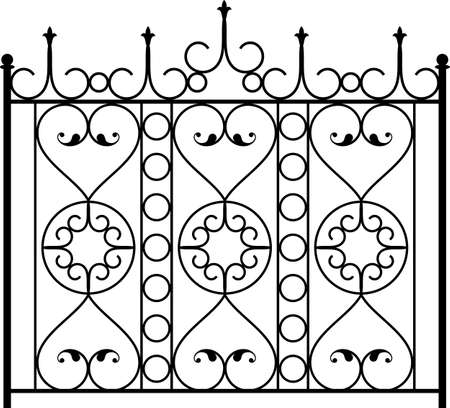 cast iron: Wrought Iron Gate, Door, Fence, Window, Grill, Railing Design