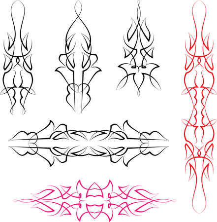 Pinstripe Design Template Royalty Free Cliparts Vectors And Stock