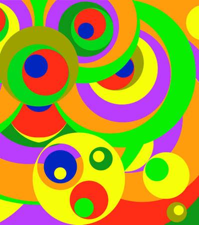 Modern Abstract Painting Wall Art Design Vector Art Illustration