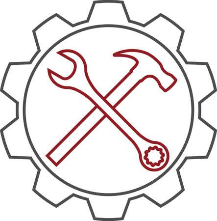 Service Icon Vector Illustration